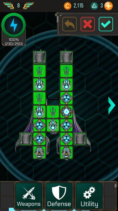 Гайд Space Arena Build & Fight - конструкции кораблей