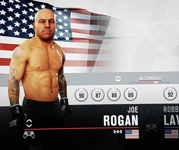 EA Sports UFC 3 - как открыть секретного бойца Джо Рогана