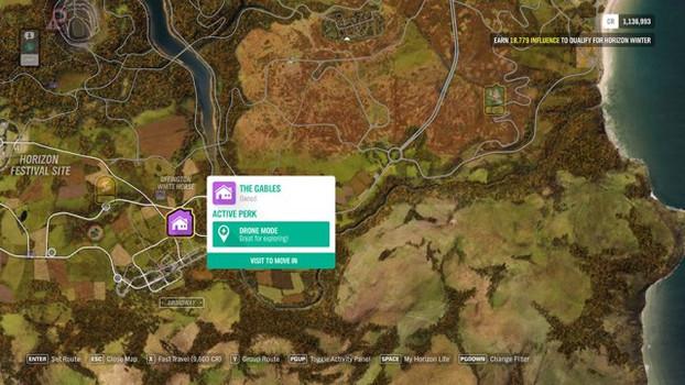 Forza Horizon 4 - где найти все дома