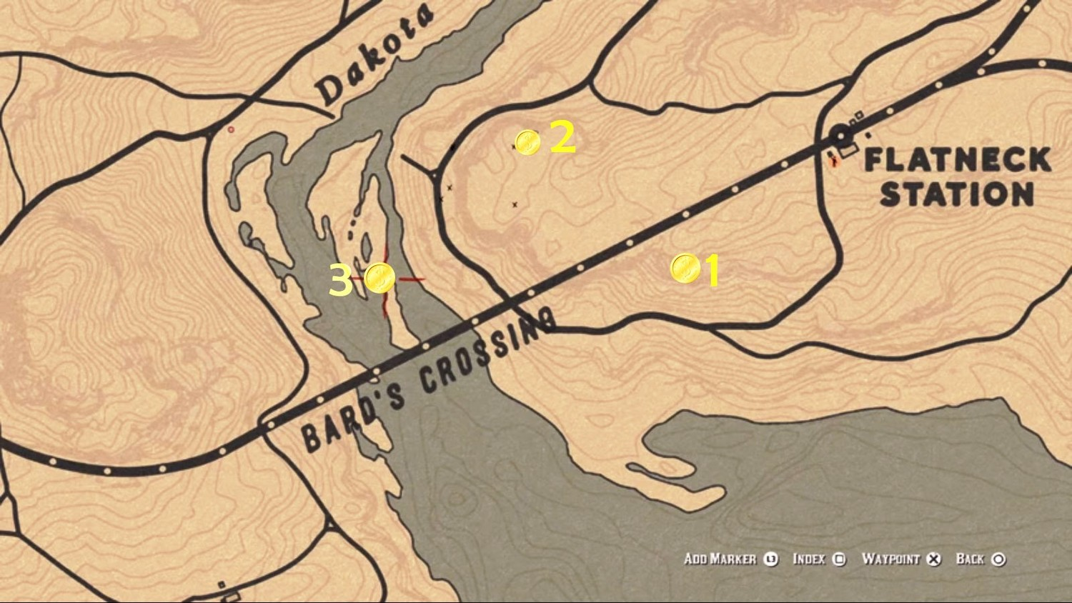 3b70e954cb4b Red Dead Online - где найти сокровище Барда - GuidesGame