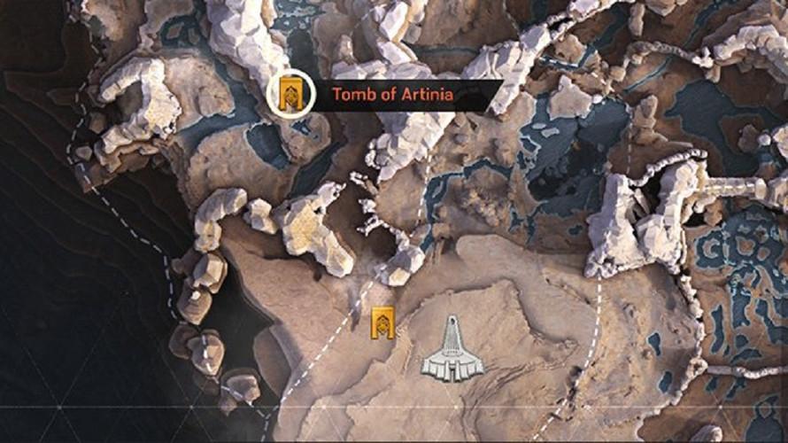 Anthem - как найти открыть все гробницы Легионеров