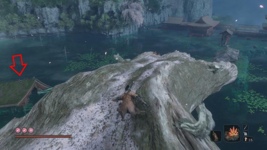 Sekiro: Shadows Die Twice - как найти и убить Великого карпа