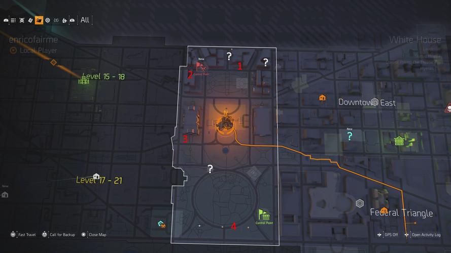 The Division 2 - где найти тайники с очками SHD