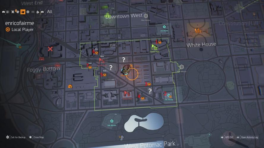 The Division 2 - где найти тайники с технологиями SHD