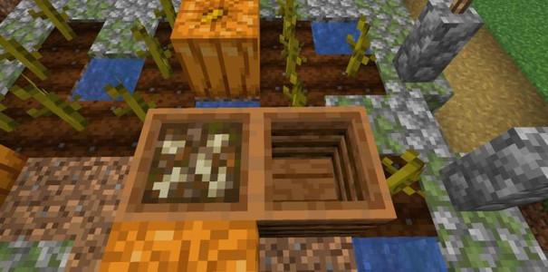 Minecraft 1.14 - как сделать компостер