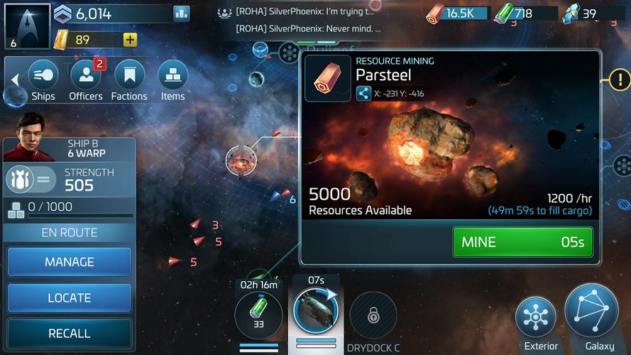 Star Trek Fleet Command - карта ресурсов