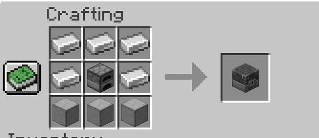 Minecraft 1.14 - как сделать доменную печь