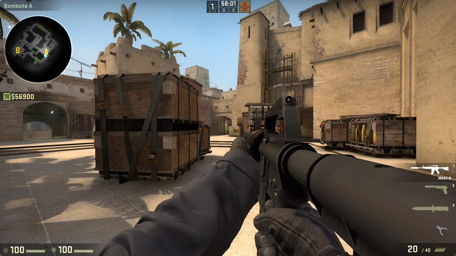 История и пасхалки карт в Counter-Strike:Global Offensive