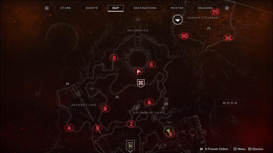 Destiny 2: Shadowkeep - где найти региональные сундуки