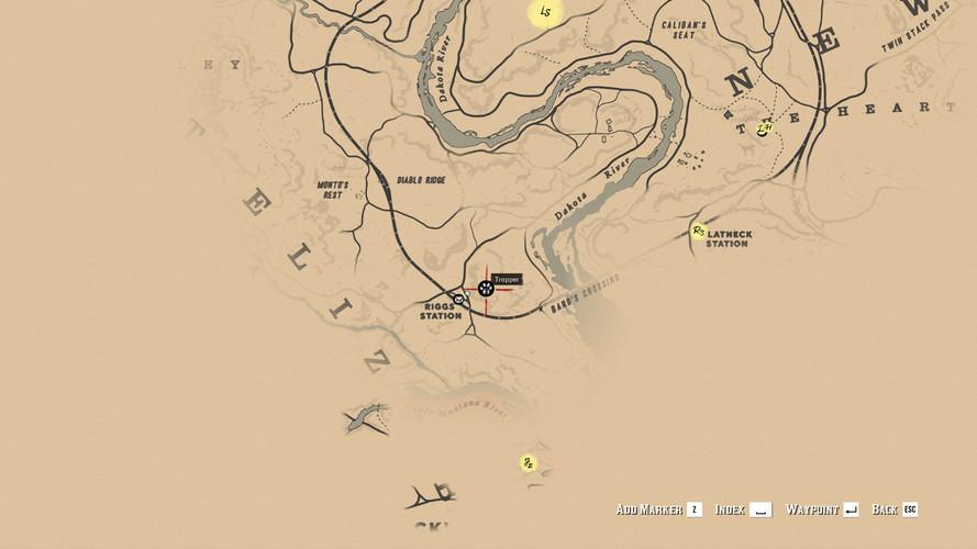 Red Dead Redemption 2 - где найти опоссума Вирджиния