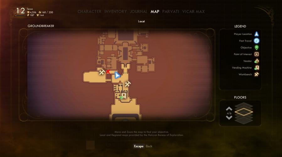 The Outer Worlds - где найти ключ-карты