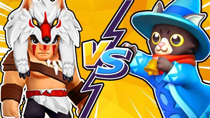Кто лучше в Archero - Мяугик или Хеликс?