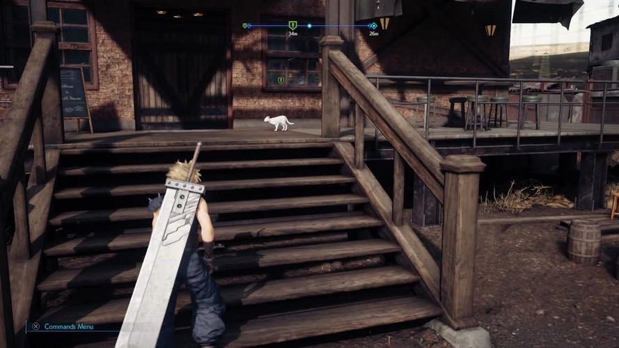 Final Fantasy 7 Remake - где найти котов/кошек Бетти в 3 главе