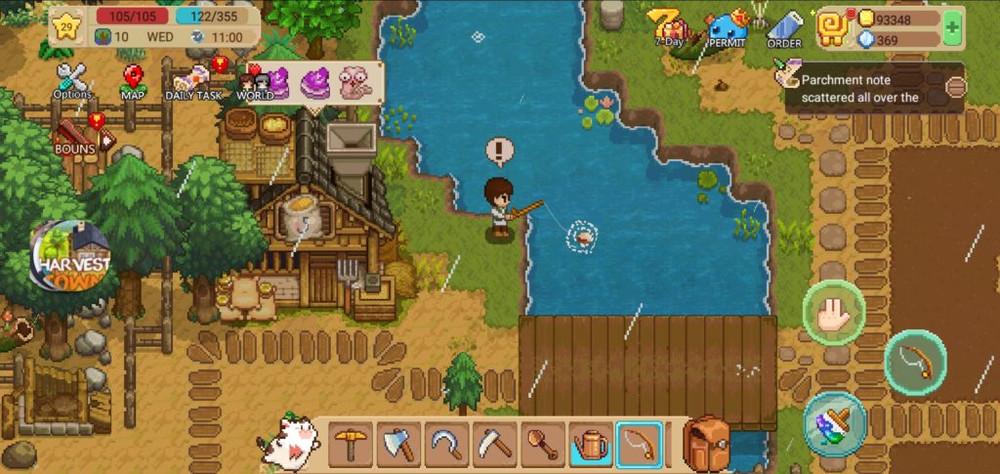 Harvest Town - гайд по Оккультной пещере