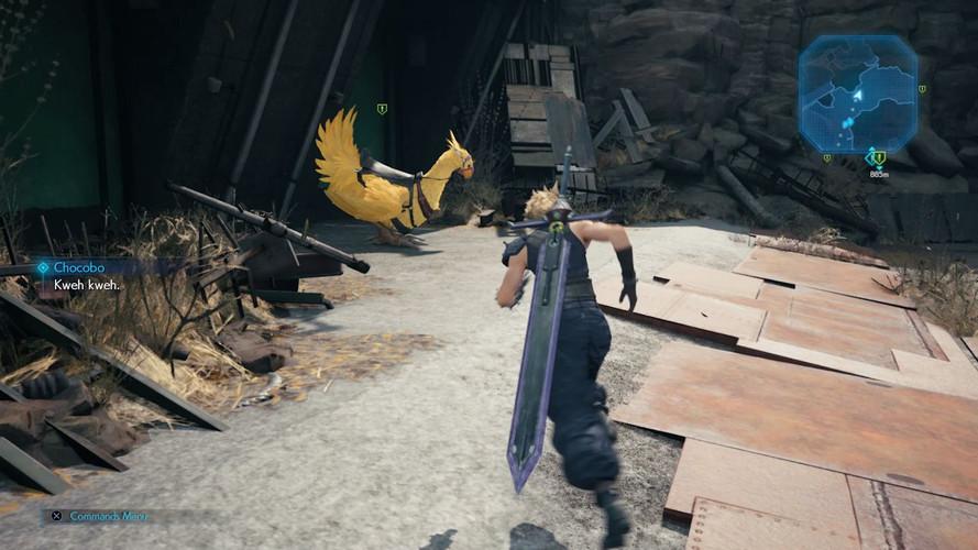 Final Fantasy 7 Remake - где найти Чокобо в 14 главе