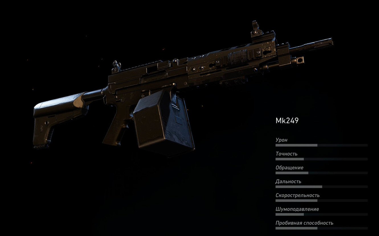 MK249 (Легкий пулемет) в Ghost Recon: Wildlands