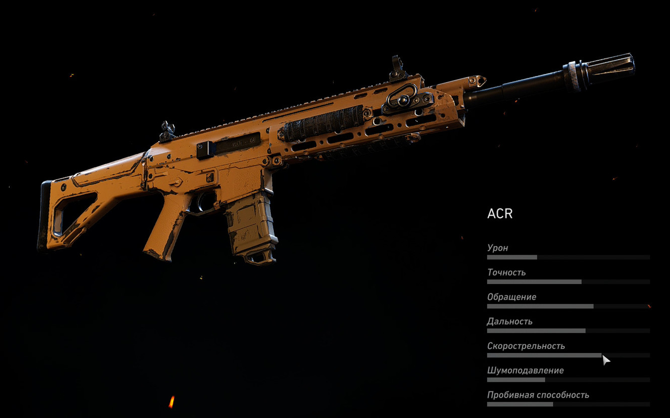 ACR (Штурмовая винтовка) в Ghost Recon: Wildlands