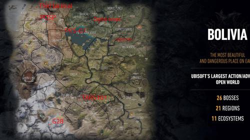 Гайд Ghost Recon: Wildlands. Где найти прицелы для снайперской винтовк