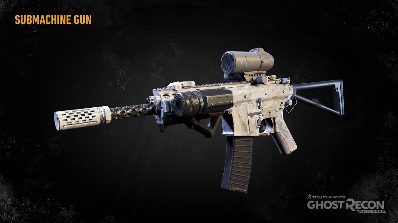 Пистолеты-пулеметы в Ghost Recon: Wildlands