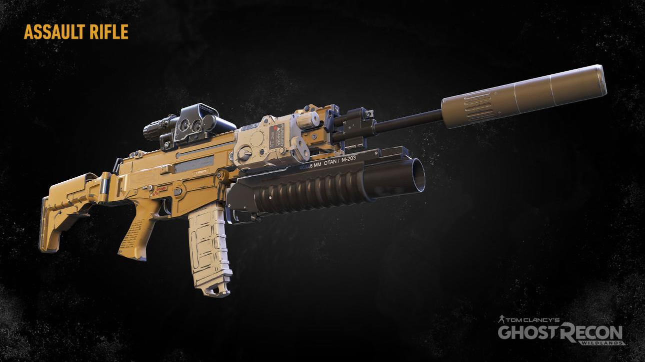 Штурмовые винтовки в Ghost Recon: Wildlands