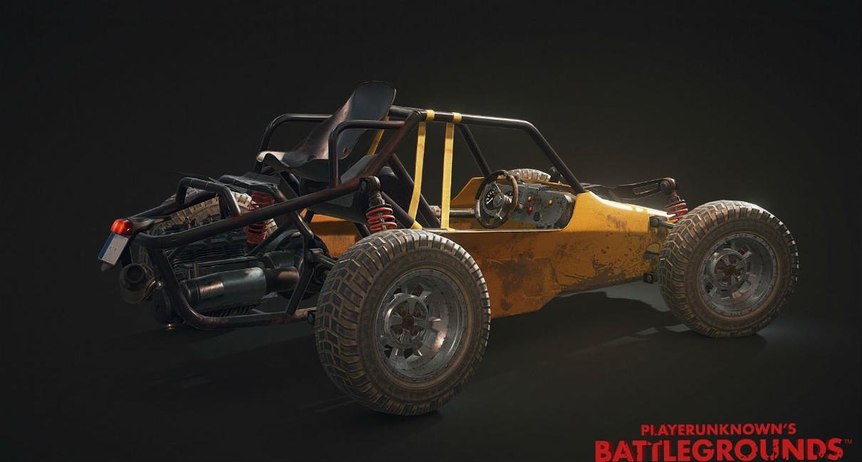 Багги в Playerunknown's Battlegrounds