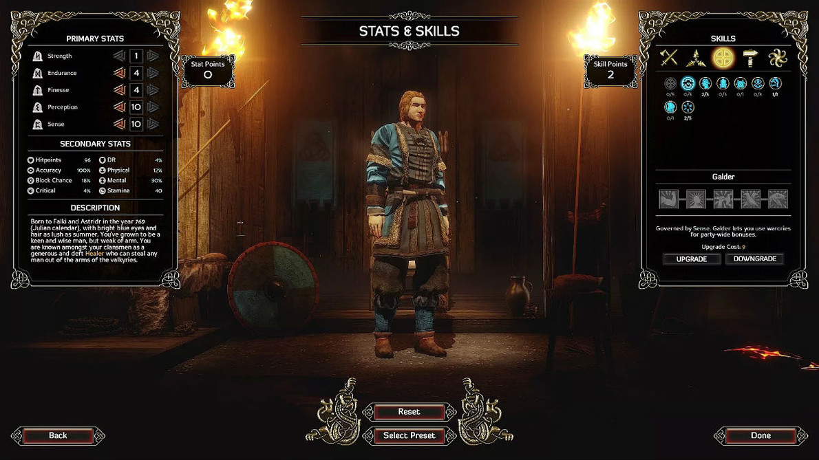 Гайд Expeditions: Viking. Лучшие билды персонажей