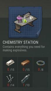 Химическая лаборатория Last Day on Earth