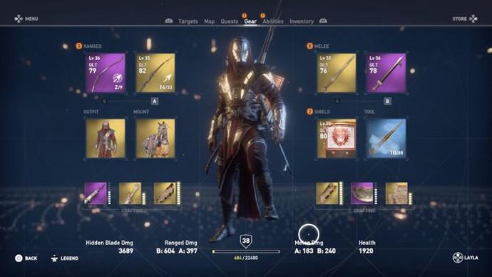 Как получить броню Ису в Assassin's Creed Origins