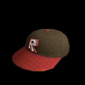 Красная кепка Роблокс