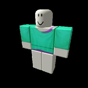 Фиолетово-бирюзовый топ