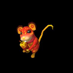 Новогодняя крыса