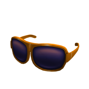 Солнцезащитные оранжевые очки