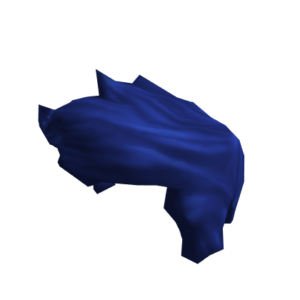 Синяя прическа