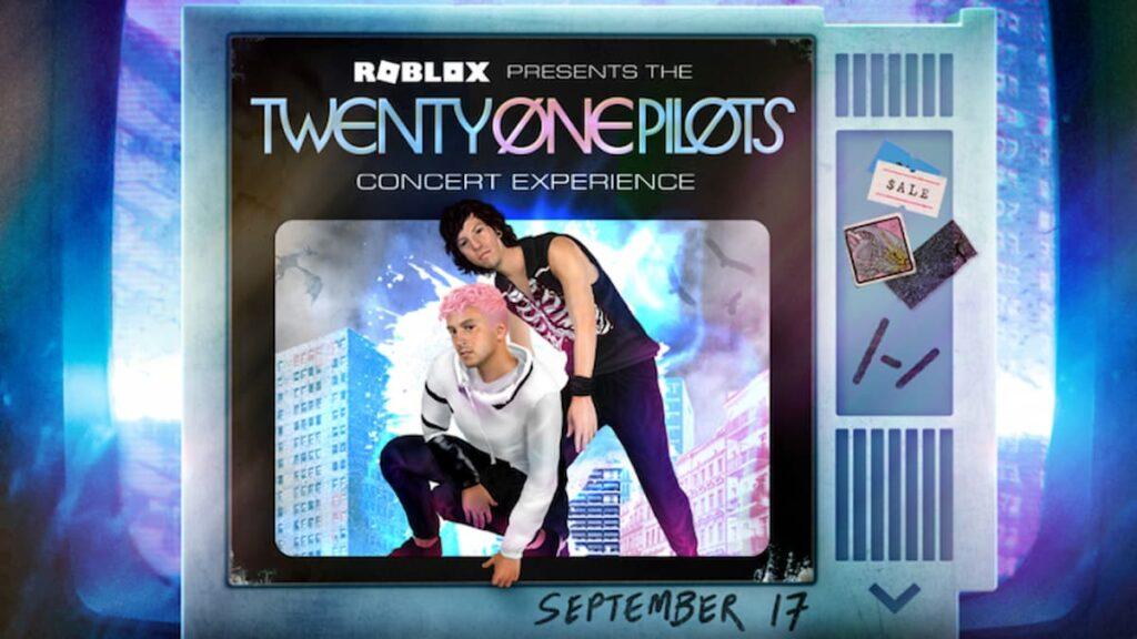 Предметы в честь концерта группы Twenty One Pilots