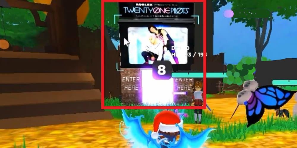 Красная шапка Blurryface Roblox Twenty One Pilots