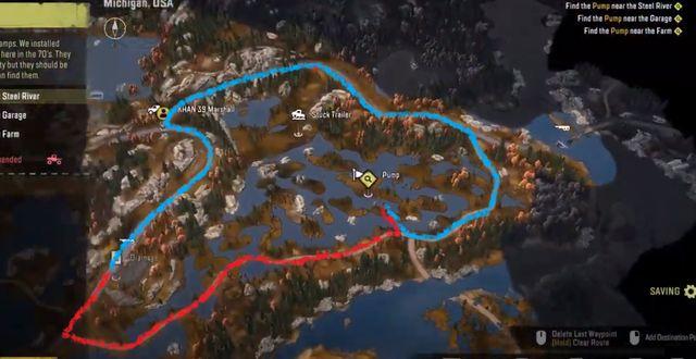 Snowrunner - прохождение миссии Дренаж