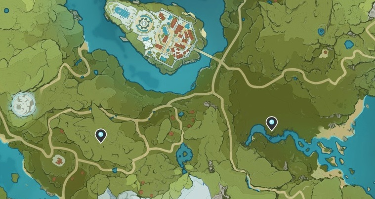 Genshin Impact - где найти статуи для анемокулов