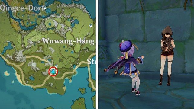 Genshin Impact - прохождение квеста Ци Гуюнь