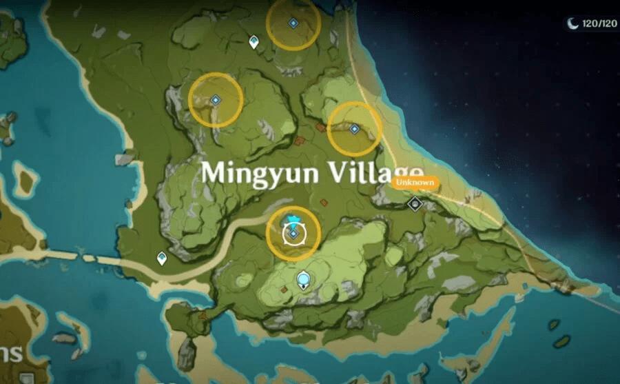 Genshin Impact - прохождение квеста Дерево, которое стоит в одиночестве