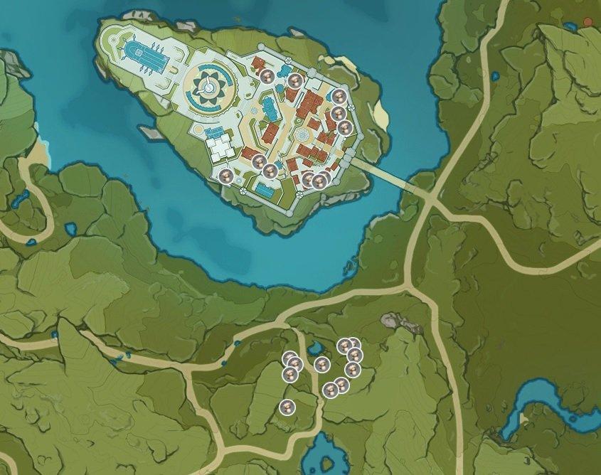 Genshin Impact - где найти гриб Филанемо