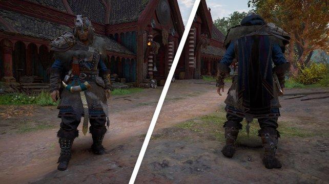 Assassin's Creed Valhalla - собираем броню Охотника