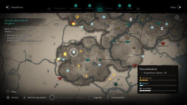 Assassin's Creed Valhalla - проклятые символы