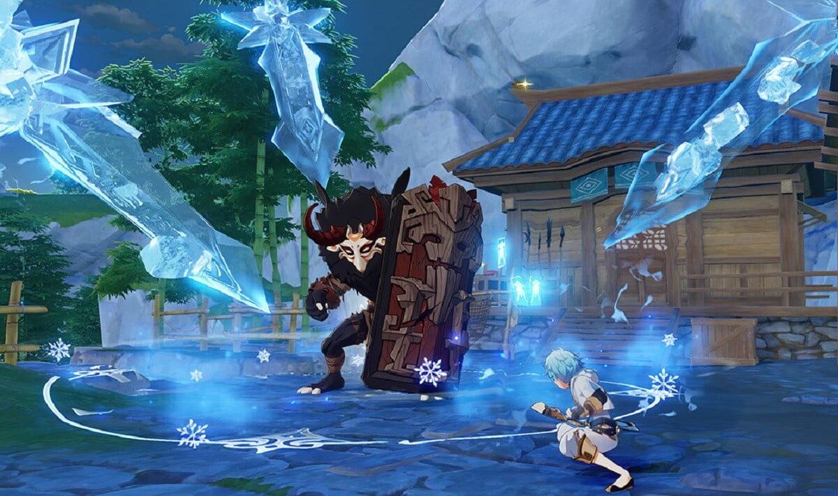 Genshin Impact - где найти Туманные цветы