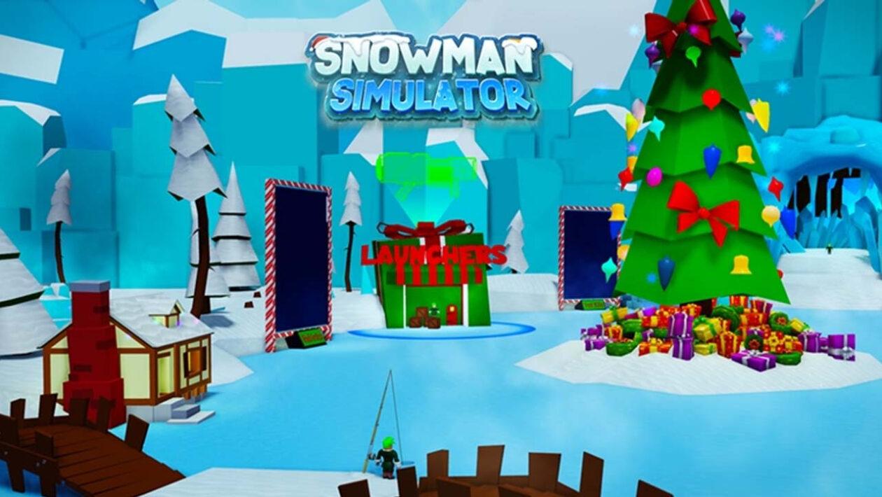 Roblox Симулятор снеговика - коды