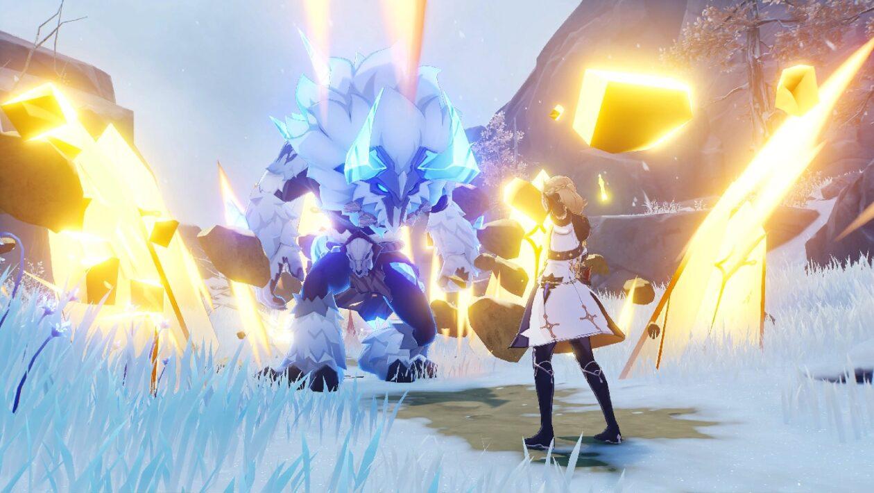 Genshin Impact - как открыть Статую семерых в Драконьем хребте