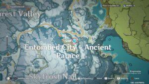 Genshin Impact - прохождение квеста Заблудший в снегах