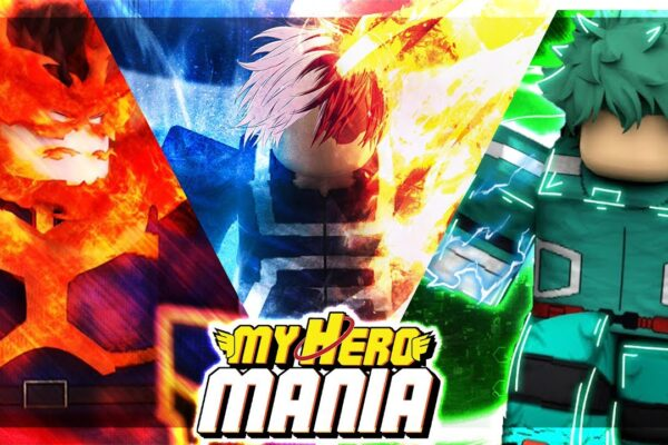 Roblox My Hero Mania - коды