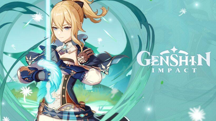 Genshin Impact - решение головоломки с водными столбами на Изломанном острове