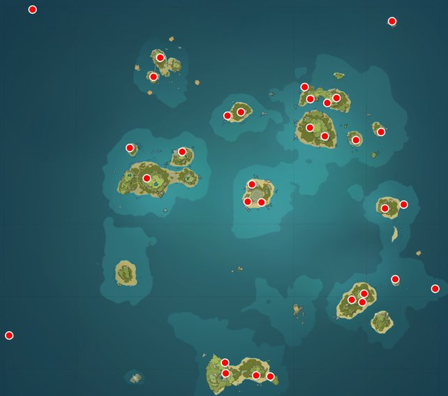 Genshin Impact - где найти все раковины эха в событии Эхо легенд