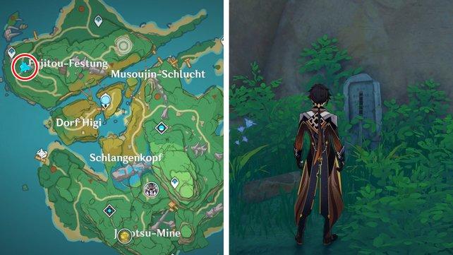Genshin Impact - где найти простые гробницы в Инадзуме